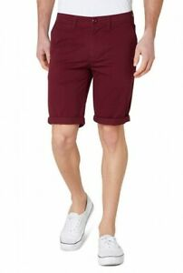 Mossimo Lachlan II Burgundy Chino Stretch Walk Shorts  Size : 40
