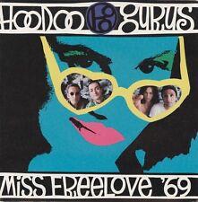 "Hoodoo Gurus - Miss Freelove '69 7"" Picture Sleeve Vinyl Single Aus Garage Mint"