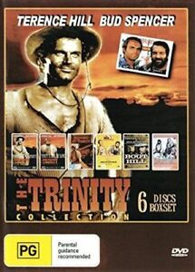 The Trinity Collection 6 Bud Spencer Terence Hill DVD New Australia All Regions