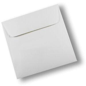 20 x Envelopes White Square 90 x 90mm Wallet Shape Lick N Stick #E15BH #B1