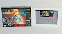 Street Combat SNES Super Nintendo Authentic & Tested w/ VERY NICE Box!