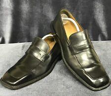 Louis Vuitton Vintage unique leather LV dress loafers siz 9 1/2 or 10 1/2 US