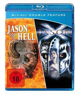 JASON GOES TO HELL & JASON X (Friday 13th Double Feature) NEW BLURAY UK REGION B