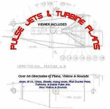 PULSE JETS & TURBINE PLANS 50 PLUS