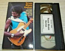 Texas Blues Guitar VHS Albert Collin Lightnin Hopkin Freddie King Mance Lipscomb