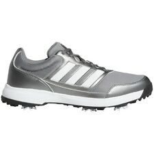 Adidas Tech Response 2.0 Mens Golf Shoes - Metallic Grey - Pick Size