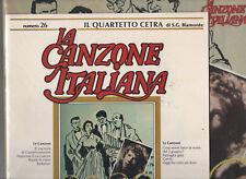 QUARTETTO CETRA disco  LP 33  Canzone italiana  n. 26 il QUARTETTO CETRA