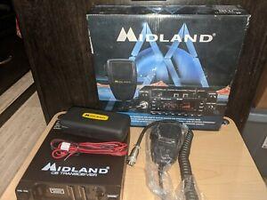 Midland model 79-290  120 ch AM/SSB transcriver 10ch weather monitor