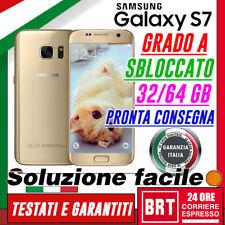 S399_SMARTPHONE SAMSUNG GALAXY S7 EDGE G935 G935F 32GB 4G ORO RIGENERATO GRADO A