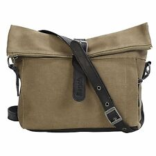 "Bench Halfpipe Cotton Canvas 8"" Tablet Sleeve Small Messenger Bag Purse Tote NWT"