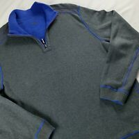 Tommy Bahama Reversible Men's 1/ 4 Zip Pullover Sweater Large L