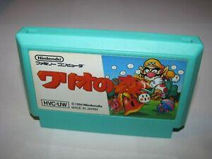 Wario no Mori Wario's Woods Famicom NES Japan import US Seller