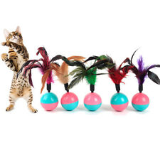 Colorul Pet Cat Toys Tumbler Ball Toy Interactive Training Toys for Cats Kitten