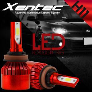 H11 LED Headlight Kit Low Beam Bulb for Jeep Grand Cherokee Dodge Grand Caravan