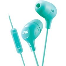 JVC Marshmallow Green Stereo Memory Foam Earbuds with Remote and Microphone