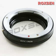 Macro Contax Yashica C/Y Lens to NIKON F MOUNT Adapter D4 D90 D800 D5200