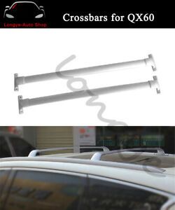 Fits for Infiniti QX60 JX35 2013-2020 Crossbar Cross bars Roof Rack Rail Carrier