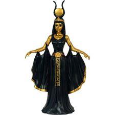 Ägyptische Pharaonin Kleopatra stehend schwarz-gold