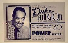 Duke Ellington Concert Poster 1974 Gary Grimshaw Ann Arbor