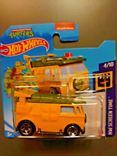 Hot Wheels HW Screen Time Party Wagon Turtles GRX-M521