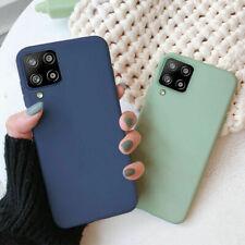 For Samsung A72 A52 A42 A32 A12 A51 A71 Soft Matte TPU Silicone Phone Case Cover