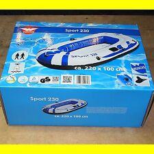 Schlauchboot Wehncke Sport 230 - Größe: 220 x 100 cm - bis 160 kg - Neu OVP !