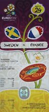 Mint ticket UEFA Euro 2012 suecia-francia # match 24 en Kiev