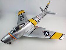 1:18 Scale 21st Century Toys F-86 Sabre Jet Fighte Mitch's Squitch w/ Pilot USAF