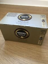 Nescafe Gold Blend Coffee Rich & Smooth Stock Sachets x 200 Single Use