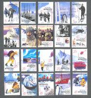 Australian Antarctic Territory-Exploration set fine used cto-132/151(2001)