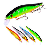 3D Eyes Minnow Fishing Lures Fresh/Saltwater Fishing Bait With Crankbaits Hooks