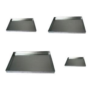 Aschekasten verschiedene Größen Aschebehälter Grill Kasten Ofen Kamin Schale NEU