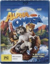 """ALPHA AND OMEGA"" Blu-ray - Region [B] NEW"
