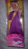 Special Edition 1997 Graduation Mattel Barbie Poseable Doll Toy Vintage