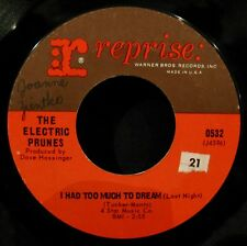 THE ELECTRIC PRUNES-I Had Too Much To Dream & Luvin-60's Psych 45-REPRISE #0532