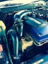 "FORD FG FGX SPRINT XR6 F6 Turbo Intake Air Muffler Delete Pipe Intercooler 4"""