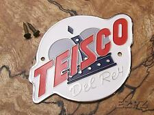 Teisco Del Rey Headstock Logo for Vintage Guitar, Free nails!  EZPZ GUITAR PARTS