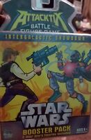 Star Wars Booster Pack Attacktix Battle 2 Random Figures New Sealed Hasbro 2006