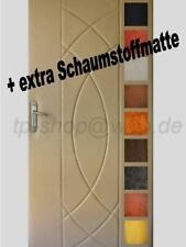 Türpolsterung Schallschutz Wärmedämmung Türverkleidung + Extra Schaumstoffmatte