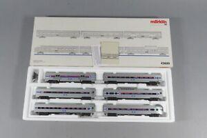 H 81390 Amerikanische Märklin Wagenpackung 43600