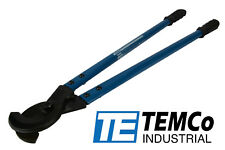 Temco Heavy Duty 24 750 Mcm Wire Amp Cable Cutter Electrical Tool 400mm2 New