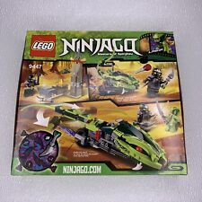 LEGO Ninjago Lasha's Bite Cycle (9447) - Brand New Sealed