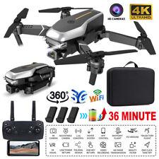Faltbar WiFi FPV Drohne 4K HD Kamera Selfie GPS 2.4G RC Quadcopter Video Drone