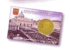 Vatican 2015, coin card n°6.