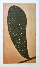 """JACQUES J. J. RIGAL Signed 1967 Original Color Etching - """"Le Millepertuis"""""""
