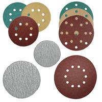 ABRALIX® 50-75-125-150-225 mm Schleifscheiben Klett Exzenter Schleifpapier