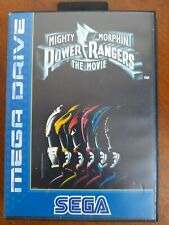 Sega Mega Drive Mighty Morphin Power Rangers - The Movie. Complete & Tested