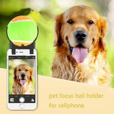 Pooch Selfie Ball Dog Pet Train Photo Toy Tennis Selfie Stick Ball Squeaky Toys