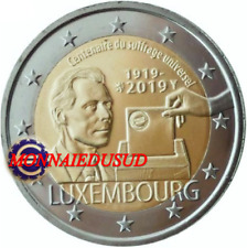 2 Euro Commémorative Luxembourg 2019 - Suffrage Universel UNC NEUVE