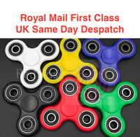 4 x Fidget Finger Spinner Hand Focus Spin EDC Bearing Stress Toys UK SELLER